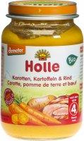 Image du produit Holle Carottes, Pommes de terre & Boeuf du 4ème mois Bio 190g