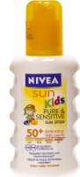 Nivea Sun Pure & Sensitive Kids Spray LSF 50+ 200ml