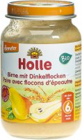 Product picture of Holle Pear with Spelt Flakes from the 6th month Bio 190g