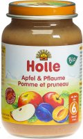 Product picture of Holle Apple & Plum from the 6th month Organic 190g