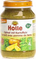 Holle Spinat In Kartoffeln 190g