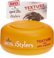 Got2b Istyles Texture Clay Wax 75ml