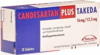 Candesartan Plus Takeda Tabletten 16/12.5mg 28 Stück