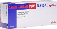 Candesartan Plus Takeda Tabletten 32/25mg 98 Stück
