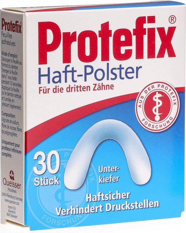Protefix haftpolster unterkiefer 30 st ck in der adler for Polstertechnik und innendekoration