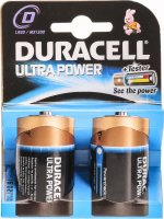 Duracell Ultra Power Batterie MX1300 D 1.5V 2 Stück