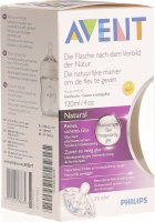 Avent Naturnah-Flasche 120ml Glas