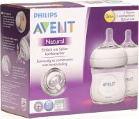 Avent Naturnah-Flasche 2x 125ml Pp Duo