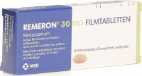Remeron Tabletten 30mg 10 Stück