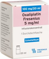 Oxaliplatin Fresenius 100mg/20ml Ampullen In Becher