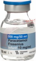 Paracetamol Fresenius 500mg/50ml Kind 10x 50ml