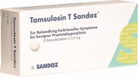 Tamsulosin T Sandoz Retard Tabletten 0.4mg 10 Stück