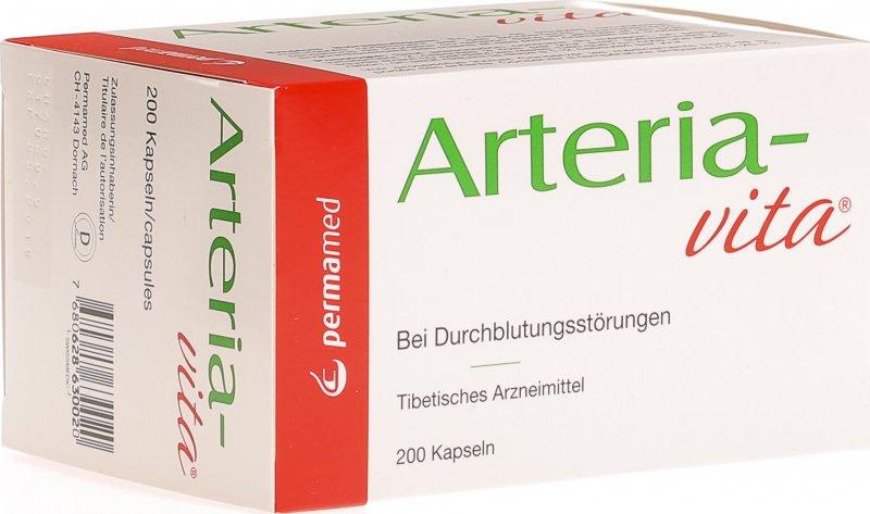 Arteria-vita Kapseln 200 Stück in der Adler Apotheke