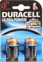 Image du produit Duracell Ultra Power Batterie MX1400 C 1.5V 2 Stück