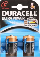 Duracell Ultra Power Batterie MX1400 C 1.5V 2 Stück
