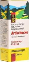 Image du produit Schönenberger Artischocken Saft 200ml