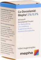 Co-dorzolamid Mepha Augentropfen 5ml