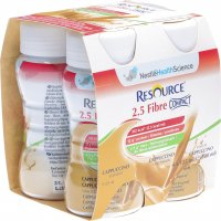 Resource 2.5 Fibre Compact Drink Cappuccino 4x 125ml