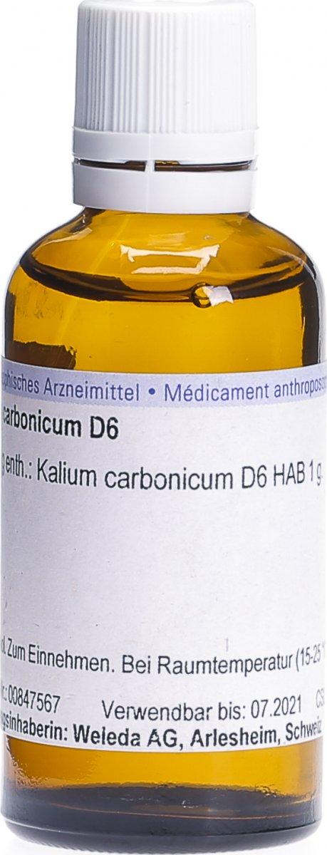 kalium carbonicum d6