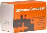 Spasmo-Canulase 100 Tabletten