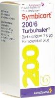Immagine del prodotto Symbicort 200/6 Turbuhaler 120 Dos