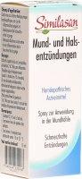 Immagine del prodotto Similasan Mund und Halsentzuendungen 15ml