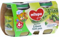 Milupa Ingredient Erbsen 4m 2x 125g