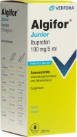 Produktbild von Algifor Junior Suspension 100mg/5ml Neu 200ml
