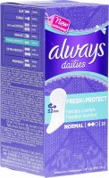 Product picture of Always Panty Liner Fresh & Protect Normal 30 pieces
