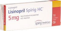 Lisinopril Spirig HC Tabletten 5mg 30 Stück