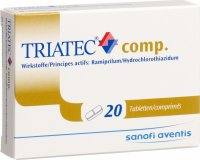 Triatec Comp Tabletten 5mg 5/25 20 Stück