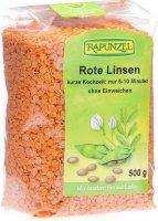 Image du produit Rapunzel Linsen Rot 500g