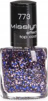 Misslyn Effect Top Coat Nail Polish M11.773
