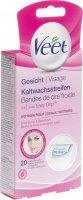 Image du produit Veet Kaltwachsstreifen Gesicht 20 Streifen