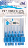 Image du produit Tepe Interdental Brush 0.6mm Bleu Blister 6 Pièces