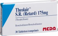 Theolair SR Retard Tabletten 175mg 30 Stück