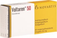 Voltaren 50mg 20 Dragées
