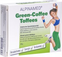 Alpinamed Green Coffee Toffees 120g