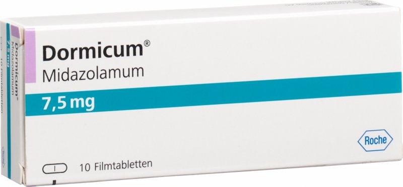 Dormicum bei kindern dosierung