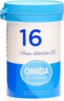 Product picture of Omida Schüssler Nr. 16 Lithium Chloratum Tabletten D12 100g
