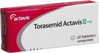 Torasemid Actavis Tabletten 5mg 20 Stück