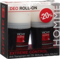 Vichy Homme Deo Extrem Contr Duo 2x 50ml