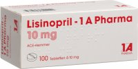 Lisinopril 1a Pharma Tabletten 10mg 100 Stück