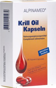 Product picture of Alpinamed Krill oil 60 capsules