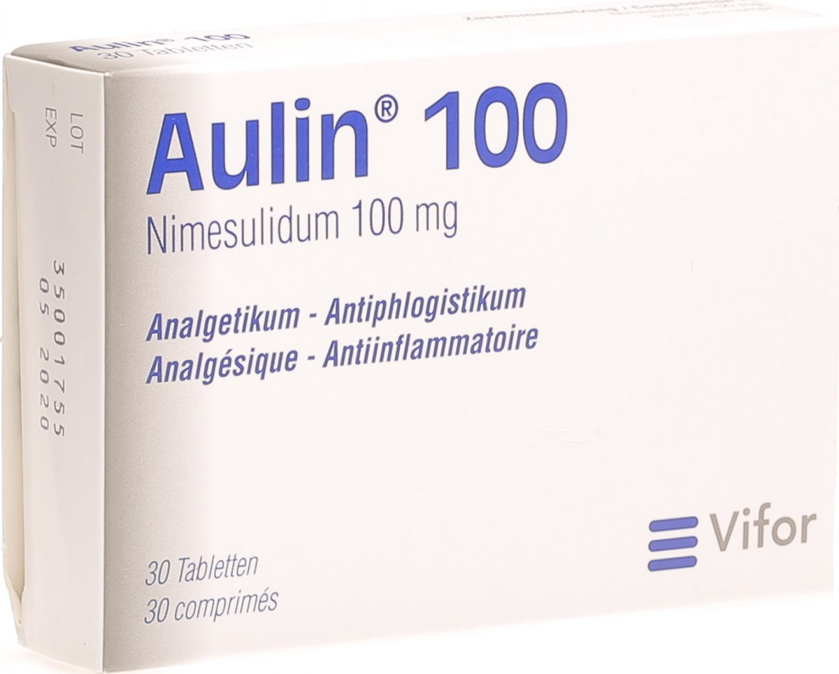 Aulin 100 Tabletten 100mg 30 Stück in der Adler Apotheke
