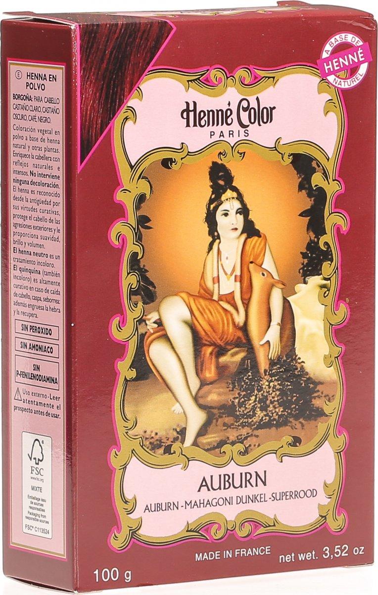 Henna haarfarbe mahagoni dunkel