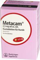 Image du produit Metacam Hunde Kautabletten 2.5mg Ad Us Vet. 84 Stück