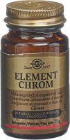 Image du produit Solgar Element Chrom Tabletten Flasche 90 Stück