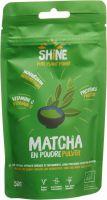 Image du produit Shine Matcha Pulver Bio Beutel 50g