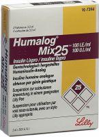 Immagine del prodotto Humalog Mix 25 Injektionssuspension F Pen 5 Ampullen 3ml